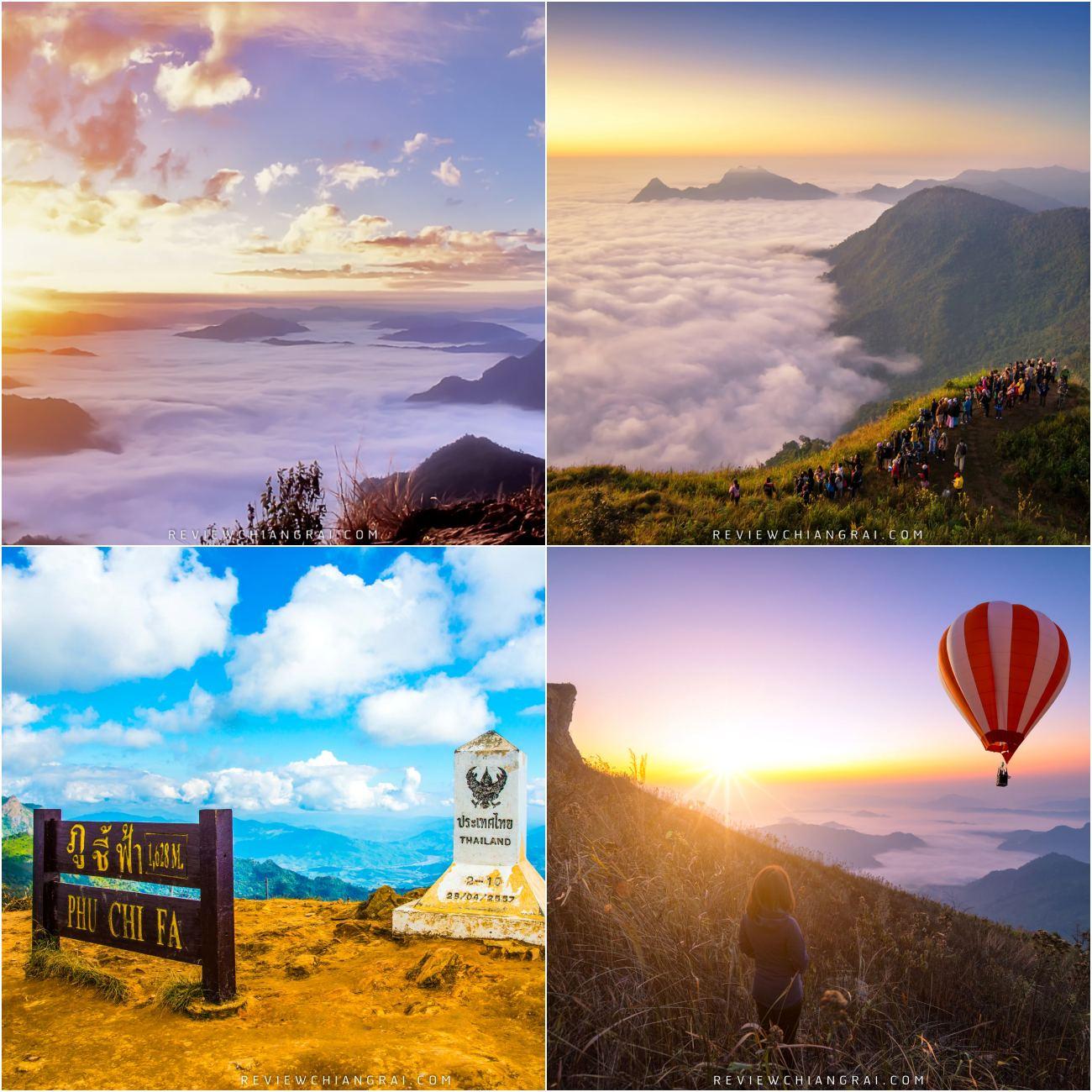 ภูชี้ฟ้า จุดชมทะเลหมอกที่มองได้สุดสายตาของเมืองเชียงรายที่มีทั้งวิวอันสวยงามและบรรยากาศของธรรมชาติบริสุทธิ์